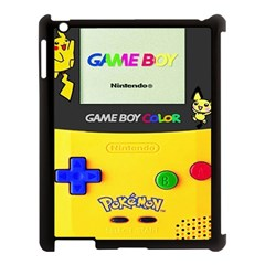 Game Boy Yellow Apple Ipad 3/4 Case (black)