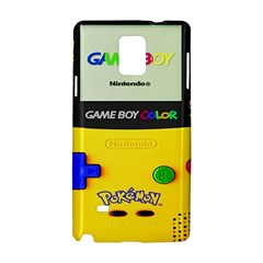 Game Boy Yellow Samsung Galaxy Note 4 Hardshell Case by Samandel
