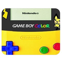 Game Boy Yellow Double Sided Flano Blanket (medium)