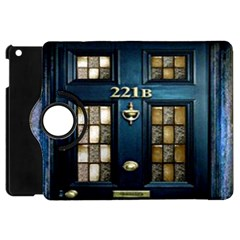 Tardis Sherlock Holmes 221b Apple Ipad Mini Flip 360 Case
