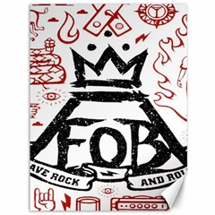 Save Rock And Roll Fob Fall Out Boy Canvas 36  X 48