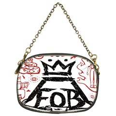 Save Rock And Roll Fob Fall Out Boy Chain Purses (one Side)  by Samandel