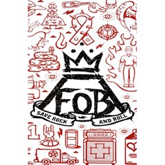 Save Rock And Roll Fob Fall Out Boy 5 5  X 8 5  Notebooks by Samandel