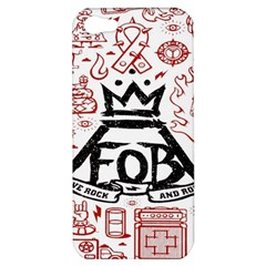 Save Rock And Roll Fob Fall Out Boy Apple Iphone 5 Hardshell Case