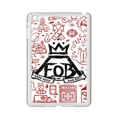 Save Rock And Roll Fob Fall Out Boy Ipad Mini 2 Enamel Coated Cases by Samandel