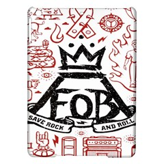 Save Rock And Roll Fob Fall Out Boy Ipad Air Hardshell Cases