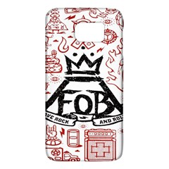 Save Rock And Roll Fob Fall Out Boy Galaxy S6 by Samandel