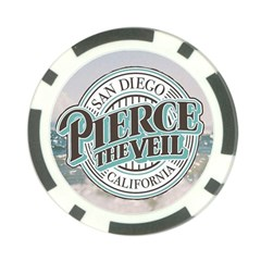 Pierce The Veil San Diego California Poker Chip Card Guard (10 Pack) by Samandel