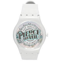 Pierce The Veil San Diego California Round Plastic Sport Watch (m) by Samandel