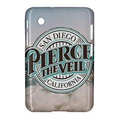 Pierce The Veil San Diego California Samsung Galaxy Tab 2 (7 ) P3100 Hardshell Case  by Samandel