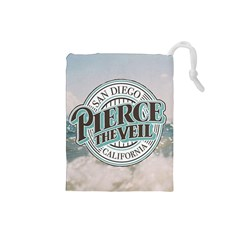 Pierce The Veil San Diego California Drawstring Pouches (small)