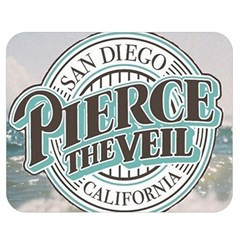 Pierce The Veil San Diego California Double Sided Flano Blanket (medium)  by Samandel