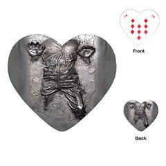 Han Solo Han Playing Cards (heart)  by Samandel