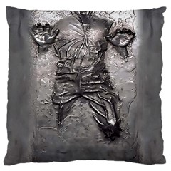 Han Solo Han Large Cushion Case (two Sides) by Samandel