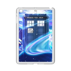 Tardis Space Ipad Mini 2 Enamel Coated Cases by Samandel