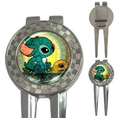 Stich And Turtle 3 In 1 Golf Divots by Samandel
