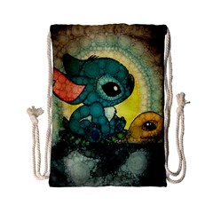 Stich And Turtle Drawstring Bag (small)