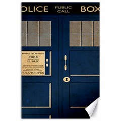 Tardis Poster Canvas 24  X 36