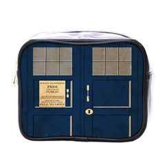 Tardis Poster Mini Toiletries Bags