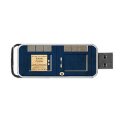 Tardis Poster Portable Usb Flash (two Sides) by Samandel