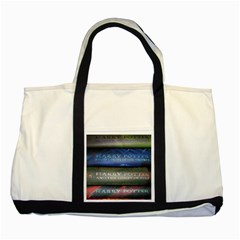 Comic Collection Book Two Tone Tote Bag