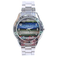 Comic Collection Book Stainless Steel Analogue Watch