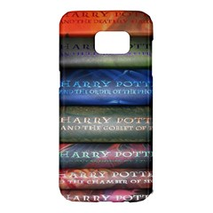 Comic Collection Book Samsung Galaxy S7 Edge Hardshell Case