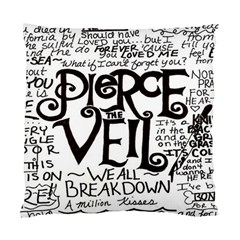 Pierce The Veil Standard Cushion Case (two Sides) by Samandel