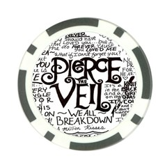 Pierce The Veil Poker Chip Card Guard (10 Pack) by Samandel