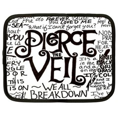 Pierce The Veil Netbook Case (xxl)