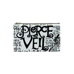 Pierce The Veil Cosmetic Bag (small)  by Samandel