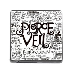 Pierce The Veil Memory Card Reader (square) by Samandel