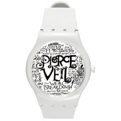 Pierce The Veil Round Plastic Sport Watch (m) by Samandel