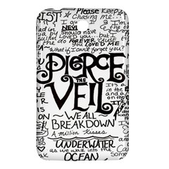 Pierce The Veil Samsung Galaxy Tab 3 (7 ) P3200 Hardshell Case  by Samandel