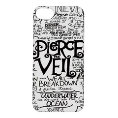 Pierce The Veil Apple Iphone 5s/ Se Hardshell Case by Samandel