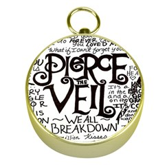 Pierce The Veil Gold Compasses by Samandel