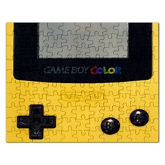 Game Boy Color Yellow Rectangular Jigsaw Puzzl