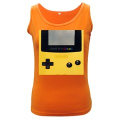 Game Boy Color Yellow Women s Dark Tank Top by Samandel
