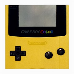 Game Boy Color Yellow Medium Glasses Cloth by Samandel