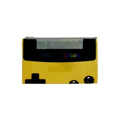Game Boy Color Yellow Cosmetic Bag (small)  by Samandel