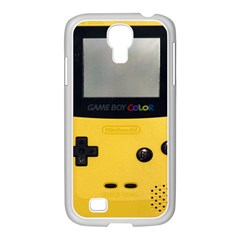 Game Boy Color Yellow Samsung Galaxy S4 I9500/ I9505 Case (white) by Samandel