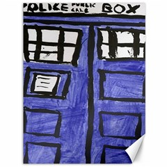 Tardis Painting Canvas 36  X 48   by Samandel