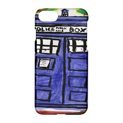 Tardis Painting Apple Iphone 8 Hardshell Case