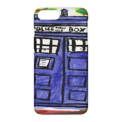 Tardis Painting Apple Iphone 8 Plus Hardshell Case