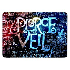Pierce The Veil Quote Galaxy Nebula Samsung Galaxy Tab 8 9  P7300 Flip Case