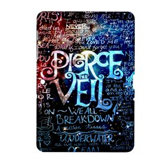 Pierce The Veil Quote Galaxy Nebula Samsung Galaxy Tab 2 (10 1 ) P5100 Hardshell Case  by Samandel