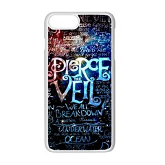Pierce The Veil Quote Galaxy Nebula Apple Iphone 7 Plus Seamless Case (white) by Samandel