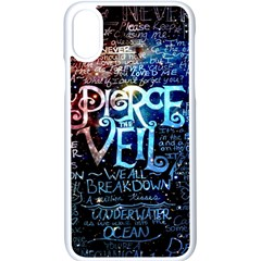 Pierce The Veil Quote Galaxy Nebula Apple Iphone X Seamless Case (white) by Samandel