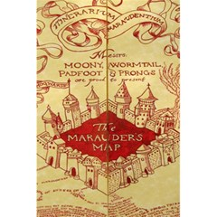 Marauders Map 5 5  X 8 5  Notebooks by Samandel