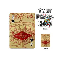 Marauders Map Playing Cards 54 (mini)